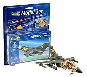 Revell Modellbausatz 64048  - Modelo establecido en el Tornado ECR MaÃstab 1:144 importado de Alemania