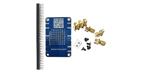 Shumo SMA-Type 50 Ohm NanoVNA Vector Network Analyzer Calibration Kit Load /&Short /&Open