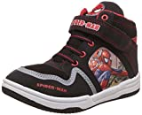 Spiderman Boy's Black and Red Boots - 10 kids UK/India (28 EU)