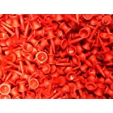 Great Value - 100 x RED Castle Golf Tees