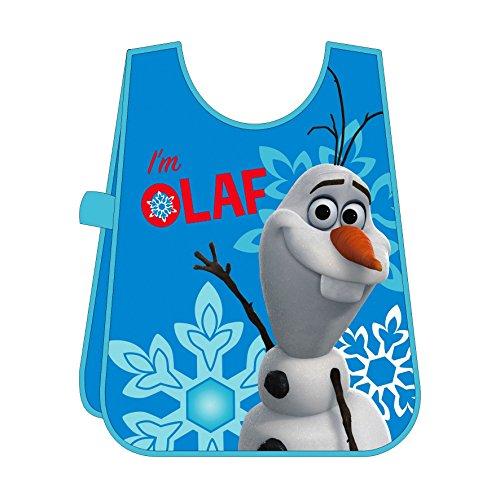 Frozen - Delantal manualidades, diseño de Olaf, en PVC, 50 x 33 cm (Arditex WD8880)