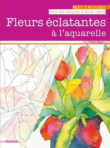 Fleurs éclatantes à l'aquarelle par Fiona Peart