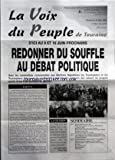 Telecharger Livres VOIX DU PEUPLE DE TOURAINE LA No 3066 du 24 05 2002 D ICI AU 9 ET 16 JUIN PROCHAINS REDONNER DU SOUFFLE AU DEBAT POLITIQUE EDITO LA CITATION SOMMAIRE ELECTIONS LEGISLATIVES DU 9 JUIN 2002 APRES COMME AVANT LES PRESIDENTIELLES L HOPITAL PUBLIC SERA AU COEUR DES DEBATS MARIE GEORGE BUFFET QUE LA RAISON L EMPORTE AVEC LE VOTE COMMUNISTE FAITES AVANCER DES MESURES D URGENCE LA BOURSE CONTRE NOS VIES AUJOURD HUI LE DANGER N EST PAS ECOUTE UNE CAMPAGNE DE TERRAIN DIALO (PDF,EPUB,MOBI) gratuits en Francaise