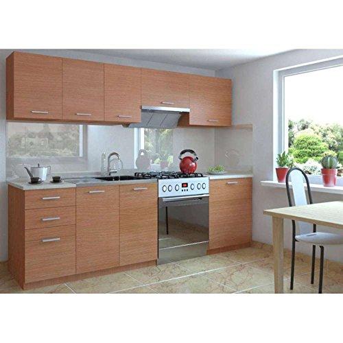 JUSThome-Economy-Cocina-completa-240-cm-Disponible-en-2-colores