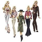 Lance Home Ropa para Barbie, 5 Conjuntos Moda Abrigo de otoño...