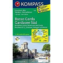 Basso Garda - Gardasee Süd: Wanderkarte mit Radwegen. GPS-genau. 1:25000 (KOMPASS-Wanderkarten, Band 695)