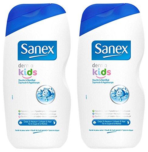 Sanex Dermo bambini doccia e bagno 500ml Set di 2