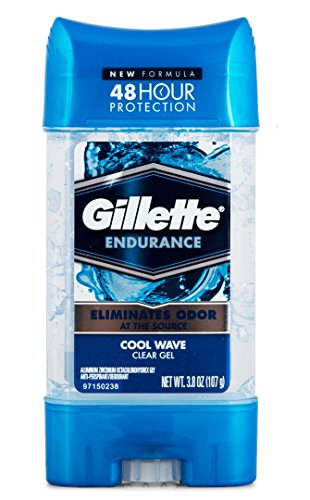 Gillette Endurance Cool Wave Antiperspirant Clear Gel 107gm with Ayur Product in Combo  available at amazon for Rs.1244