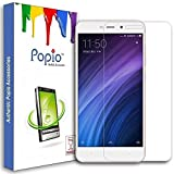 #2: Popio Tempered Glass Screen Protector For Xioami Redmi 4A With Free Installation Kit With Secure Packing