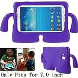 Y & M (TM)–Samsung Galaxy Tab carcasa, EVA espuma resistente a los golpes carcasa Durable a prueba luz peso Cute Cartoon Kids carcasa Tablets funda para Samsung Galaxy Tablet 2/3/3Lite/4/Q 7.0Inch