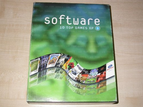 Software: 10 Top Games XP No. 1 (PC BIG BOX)