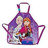 Die Eiskönigin Disney - FROZEN Bastelschürze/Kinderschürze/Malschürze/Kochschürze - Motiv: Anna & Elsa & Olaf & Sticker #3 der