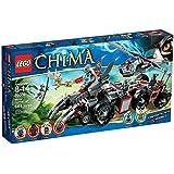 Lego Legends of Chima - Playthèmes - 70009 - Jeu de Construction - Le Char de Combat Loup