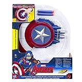 Hasbro Avengers B9943EU4 - Captain America Blaster Reveal Schild, Verkleidung