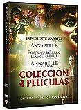 Pack Conjuring: Annabelle 1 + 2 + Expediente Warren 1 + 2 [DVD]