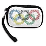 Launge Olympic Rings Coin Purse Wallet Handbag