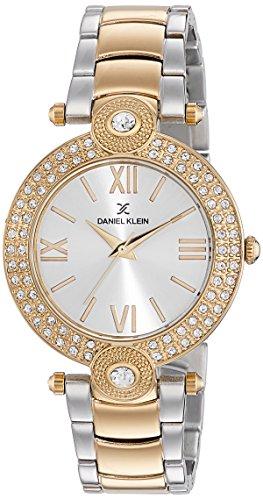 Daniel Klein Analog Silver Dial Women's Watch-DK11015-4 image