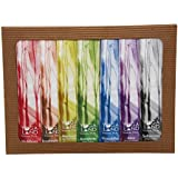 Yoga Land - Seven Chakras Incense Sticks - Pack Of 7 Fragrances - Muladhara, Svadhishthana, Manipura, Anahata, Vishuddha, Ajna, Sahasrara - Organic & Herbal - Handmade