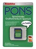 Franklin BDE-500844 Pons Großwörterbuch Deutsch/Spanisch elektronisches Wörterbuch