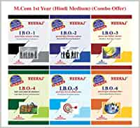Neeraj Publication IGNOU Hindi Medium M.Com Combo (I.B.O-1, I.B.O-2, I.B.O-3, I.B.O-4, I.B.O-5, I.B.O-6) Reference Books Based on IGNOU Syllabus [Flexibound] IGNOU Help Book with Solved Previous Years Question Papers and Important Exam Notes neerajignoubooks.com