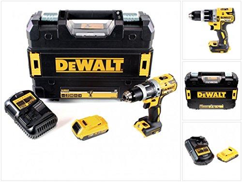 Preisvergleich Produktbild DeWalt DCD 796 D1 18 V Akku Schlagbohrschrauber Brushless 70 Nm im TSTAK mit 1x DCB 183 2,0 Ah Akku und DCB 105 Ladegerät
