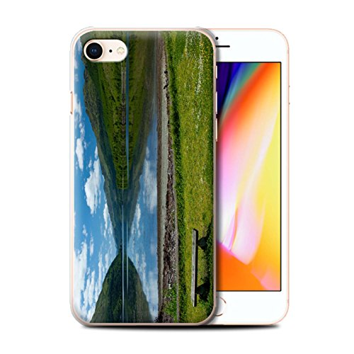 Stuff4 Hülle / Case für Apple iPhone 8 / Loch/Felsen Muster / Schottisch Landschaft Kollektion Loch/Bank