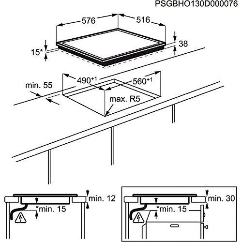 AEG HK 624000 X-B Kochfeld / Glaskeramik, elektrisch - 3