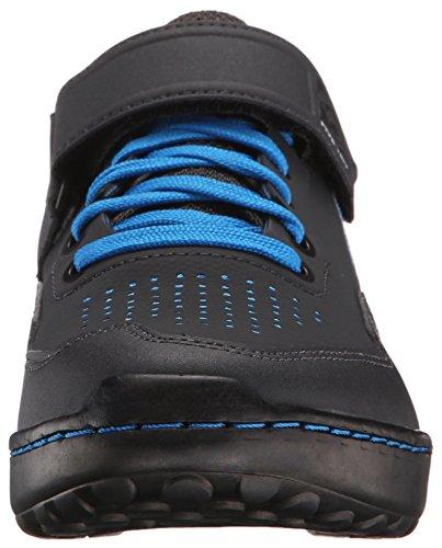 Five Ten Kestrel Lace - Chaussures - Gris/Bleu 2018 Chaussures VTT Shimano Shock Blue