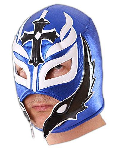 CENO.COM Wrestling Maske Blue Hero Luchador Lucha Libre Masken (Sin Wrestler Cara)
