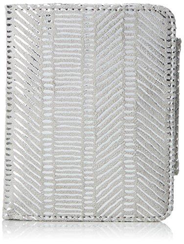 s.Oliver (Bags Damen Portemonnaie Geldbörse, Silber (Silver Lining), 2x9x12 cm
