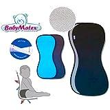 Baby Matex * * paddix Negro * * transpirable, antiallergische Asiento Asiento para/–de Aero Mesh 3d Sistema -- Universal para portabebés, asiento de coche, por ejemplo para maxi-cosi, Römer, para carrito, Buggy, Trona etc.