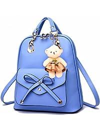 MSZYZ Solo bolso usebackpack doble bolsa de viaje, azul