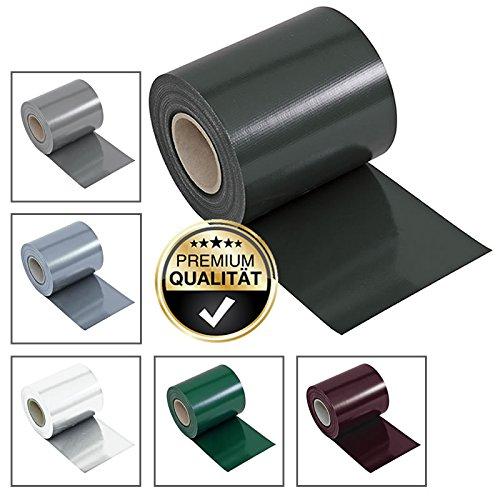 Noor Sichtschutzfolie / Sichtschutzstreifen / Zaunfolie / Zaunstreifen / Zaunblende aus PVC für verschiedene Gartenzäune, Doppelstabmattenzaun, Metallzaun, Gitterzaun |