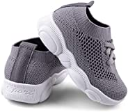 Baby First Walking Shoes 1-4 Years Kid Shoes Trainers Toddler Slip on Infant Waves Shoes Boys Girls Cotton Mes