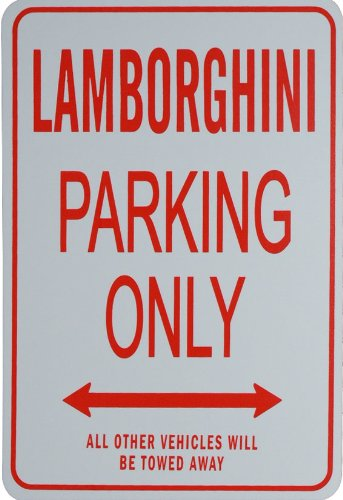 lamborghini-parking-only-sign