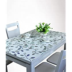 Personalizado de vidrio de vidrio Pvc Mantel Rectangular impermeable Cubierta de la mesa de cristal Placa de plástico Mat Mat Table Protector ( Tamaño : 70*130cm )