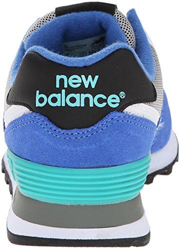 New Balance WL574 W chaussures Bleu Gris