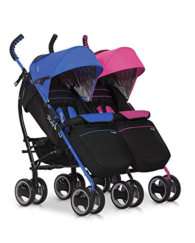 Kinderwagen Duo Comfort MIX für Geschwister / Zwillinge