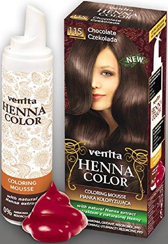mousse colorante pour cheveux gris