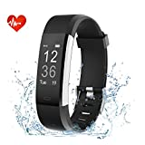 EFOSHM Activity Tracker,Heart Rate Monitor Fitness Tracker With Connected GPS Pedometer Step Counter 14 Sports Mode SmartWatch IP67 Waterproof Smart Bracelet for iOS Android Smartphone