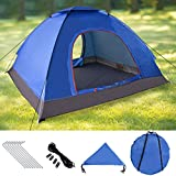 Instant Automatic Pop Up Tent, Portable Beach Tent, Water Resistant Camping Tent, Outdoor