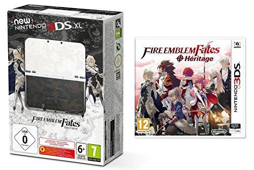 Pack New Nintendo 3DS XL Fire Emblem Fates - édition speciale + Fire Emblem Fates: Héritage