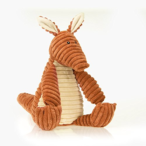Sweet Potato by Glenna Jean Large Plush Aardvark with Cream Belly (30cm )