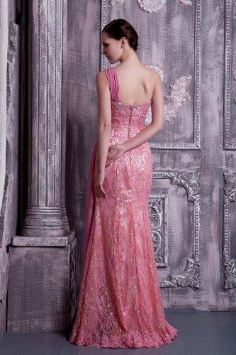 GEORGE BRIDE Prinzessin elegantes ein Schulter Spitze und Chiffon ...