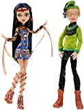 "Monster High Boo York Cleo De Nile & Deuce Gorgon 10.5"" Doll 2-Pack"