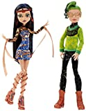 Mattel Monster High CHW60 - Traumpaar in Schwierigkeiten, Cleo de Nile und Deuce Gorgon