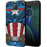 CellKraft 101231 Licensed Marvel Captain America Hard Back Case Mobile Cover for Redmi Y2 (Multicolor)