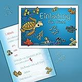 10 Einladungskarten zum Kindergeburtstag
