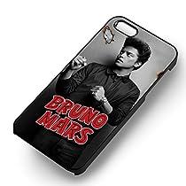 Bruno Mars Great Singer pour Coque Iphone 6 et Coque Iphone 6s Case (Noir Boîtier en plastique dur) D0E7ES