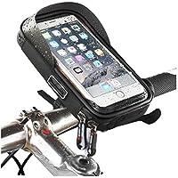 Winiron Fahrrad Handyhalterung Handyhalter Rahmentasche Wasserdichte Fahrradtasche Handytasche mit Kopfh/örerloch f/ür Fahrrad 6 Zoll Smartphone Fahrrad Halterung